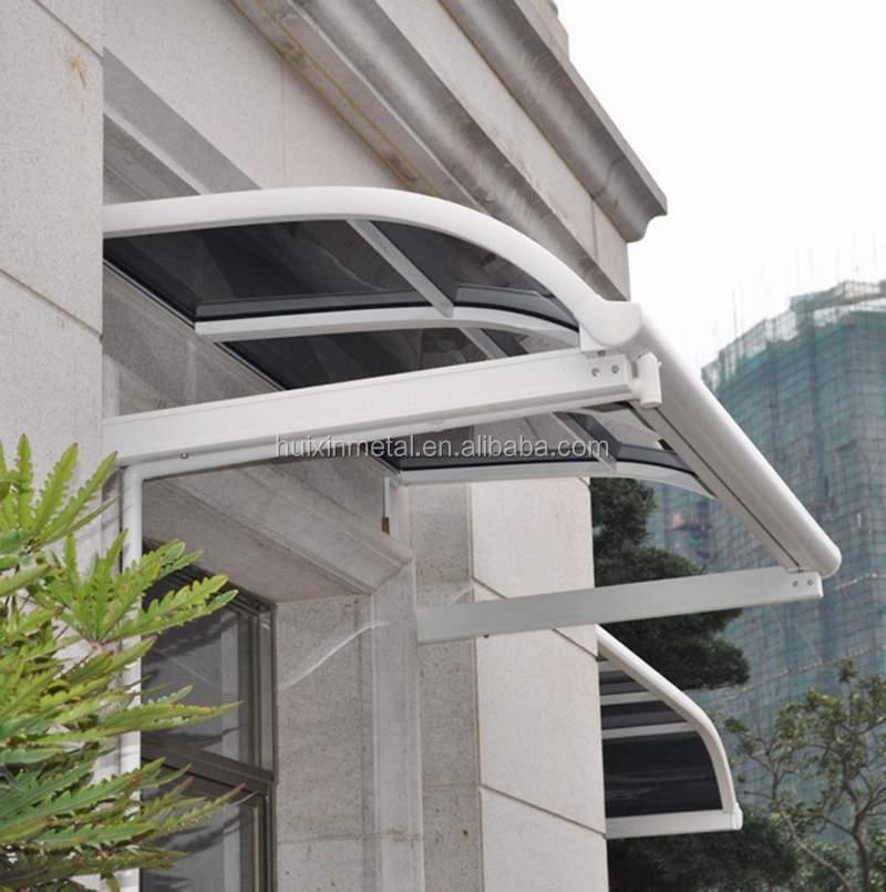 High Grade Aluminium Patio Rain Awning, Rain Shade, Balcony Canopy