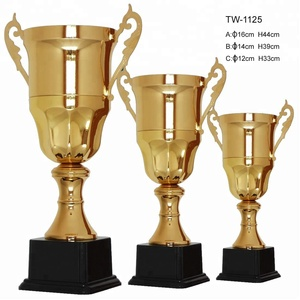 fast delivery wholesale trophy parts anad metal cup trophy cup award