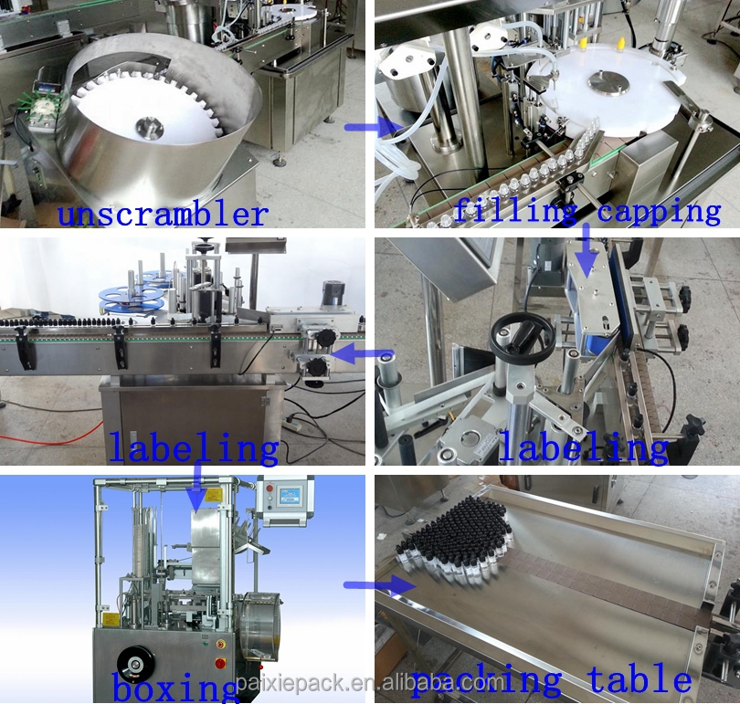 15% off small capacity Essential oil bottle automatic liquid filling machine sealing machine packing machine