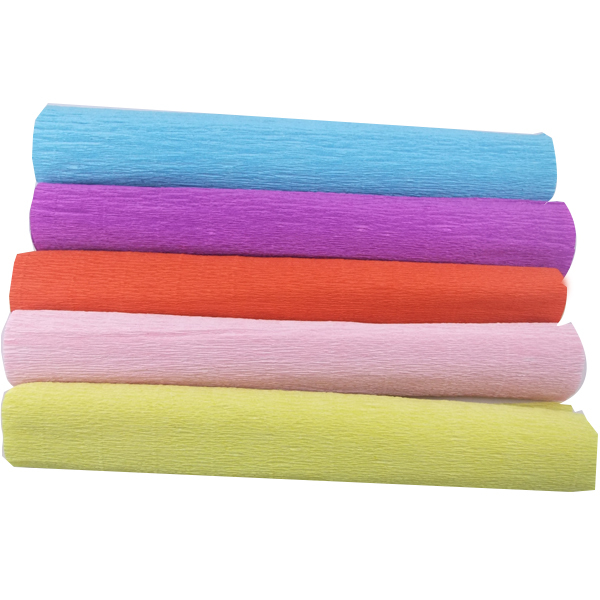Get Quotations  Size 50cm x 25m Rollup hem crepe paper prontpage flower  wrapping paper cartoon