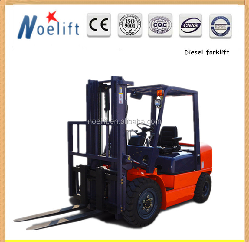 euro m2 diesel fuel price 4 ton 5 ton automatic transmission forklift, forklift side shifter