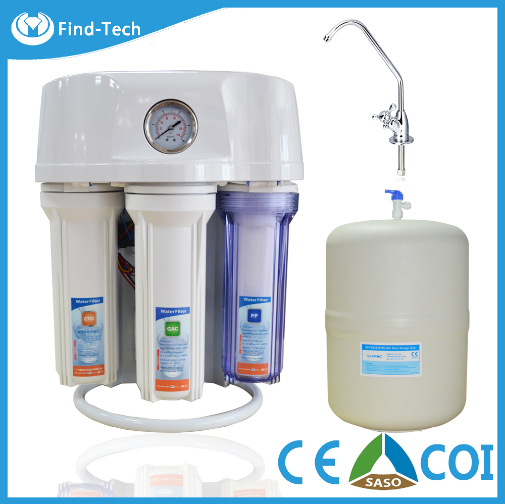 5 Stage Ro Water Purifier For Kitchen/ro 50g Water Filter With Dusty ...