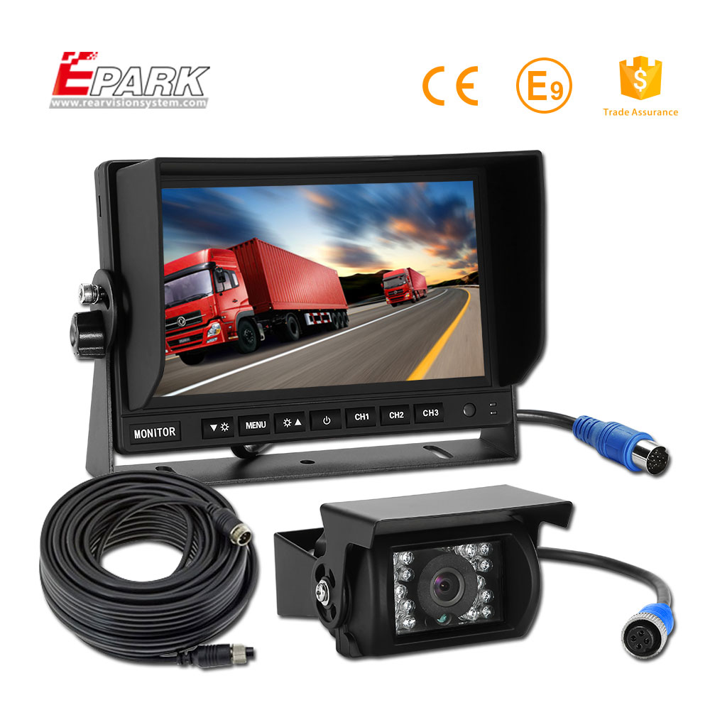 Fast delivery color car rear view camera coach bus monitor cctv system