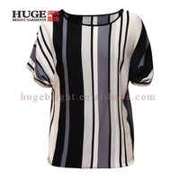 Ladies Pullover Short Sleeve Women T Shirt Knitted Sweater