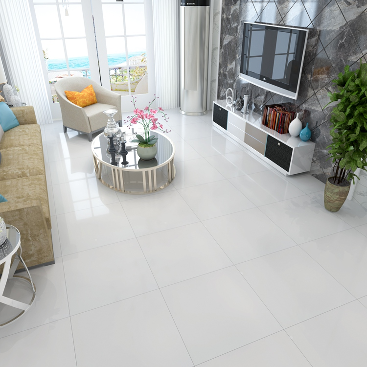 Sevilla Tile Polished Glazed 24x24 32x32 16x16 Snow White Ultra Porcelain Floor Tiles