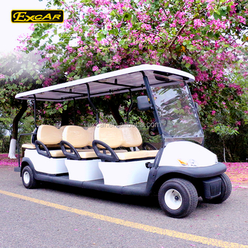 Excar 8 Seater Electrical Golf Cart Italy Graziano Axle 48v Golf Car on golf cart awning, golf cart lithium battery, golf cart phone charger, golf cart led lights, golf cart inverter, golf cart battery charger, golf cart air bag suspension,
