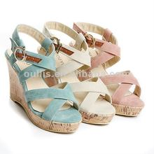 new sandals for 2012 ladies sole oem shoes hob-9