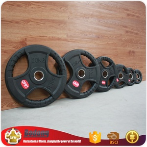 Wholesale China weight lifting rubber barbell plates dumbbell set for sale fitness equipment