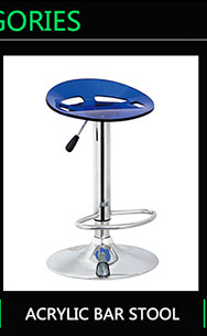 Bar stool supplier ISO 9001 certified PP bar stool for heavy people
