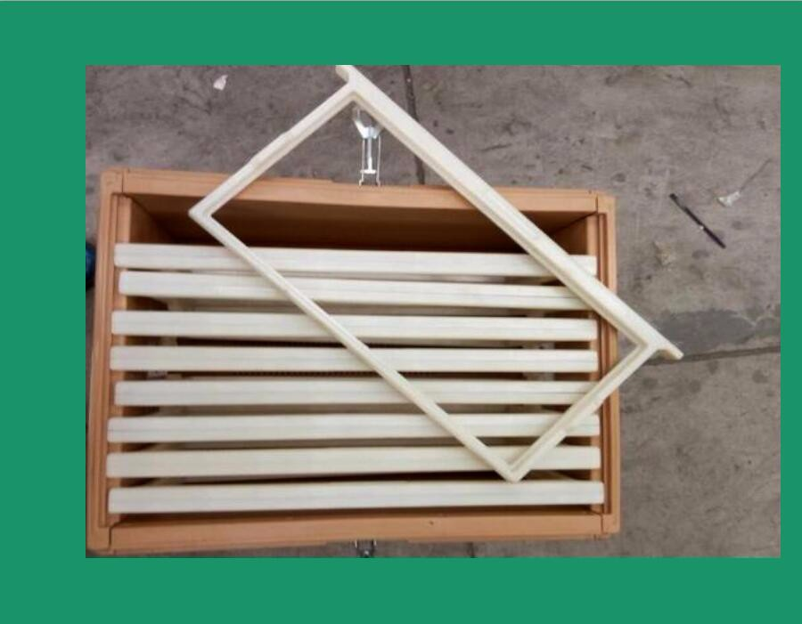 Apiculture standard international 2 tier solid bee hives for beekeeping plastic beekeeping boxes