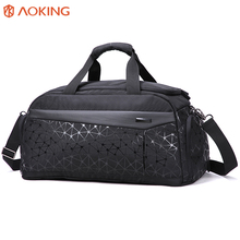 New arrival long trip smart travel bag custom waterproof mens travel duffle bag with shoe compartment