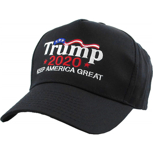 Hot sale baseball hat custom cap embroidery Trump 2020 campaign dad hat baseball