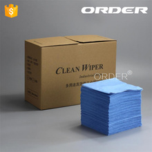 ORDER Supplier Wood Pulp Polypropylene Industrial Wipes