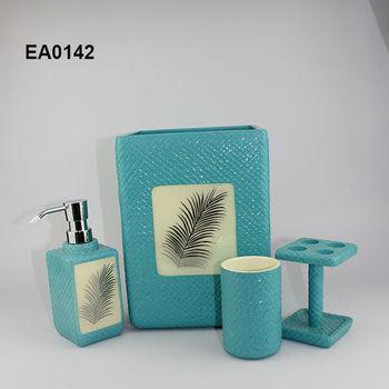 ea0142 5 star hotel amenities set bathroom decorations and
