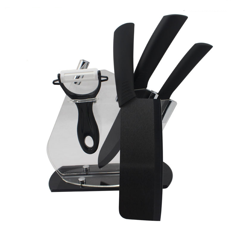 Buy High Grade 6 5 Quot Ceramic Knife 4 Quot 6 Quot Black Zirconia