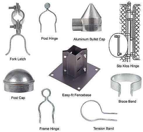 Chain Link Fence Parts Home Depot