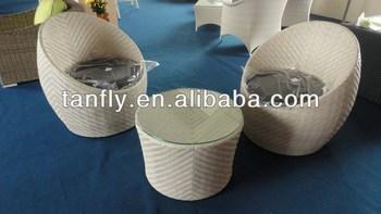 Garden Furniture Set Rattan Egg Chair