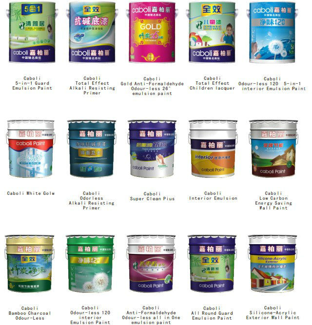 Paint Name caboli chemical resistance glossy acrylic wall paint colors