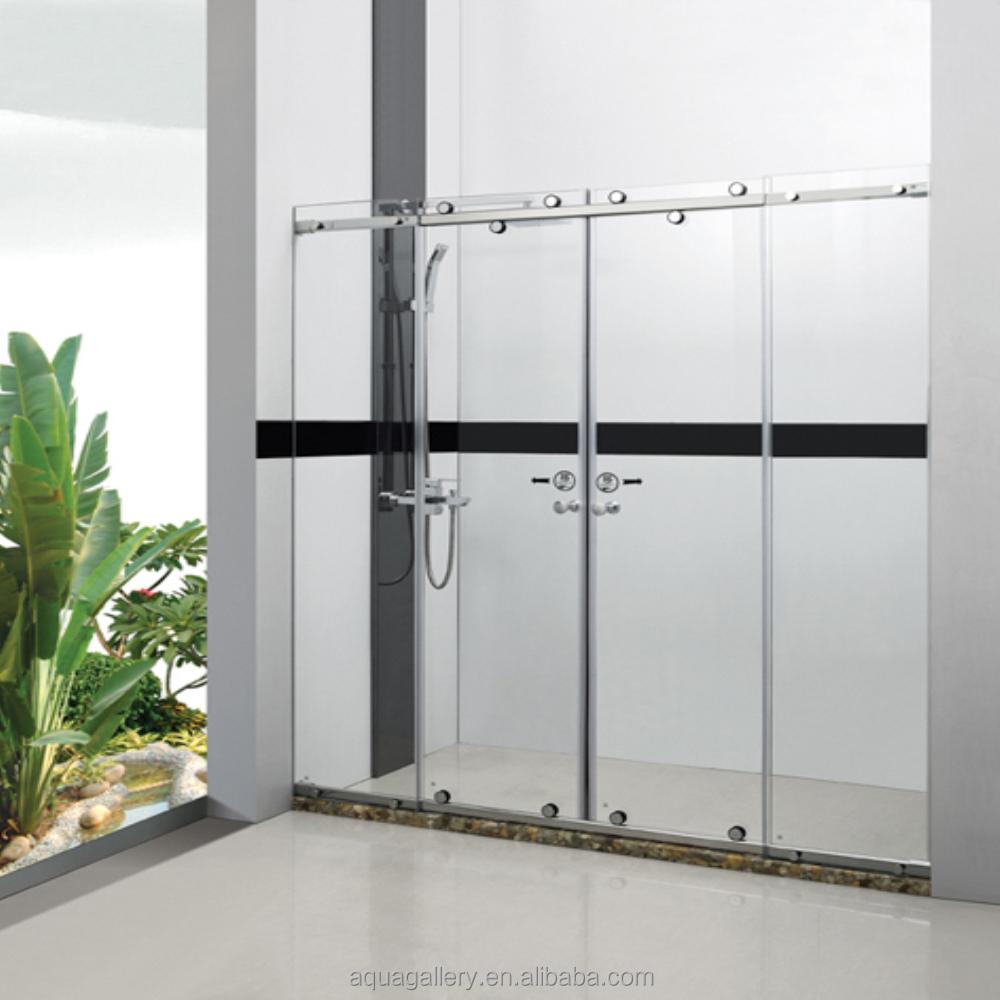 Frameless Sliding Door Shower Screen Glass Partition Buy Frameless