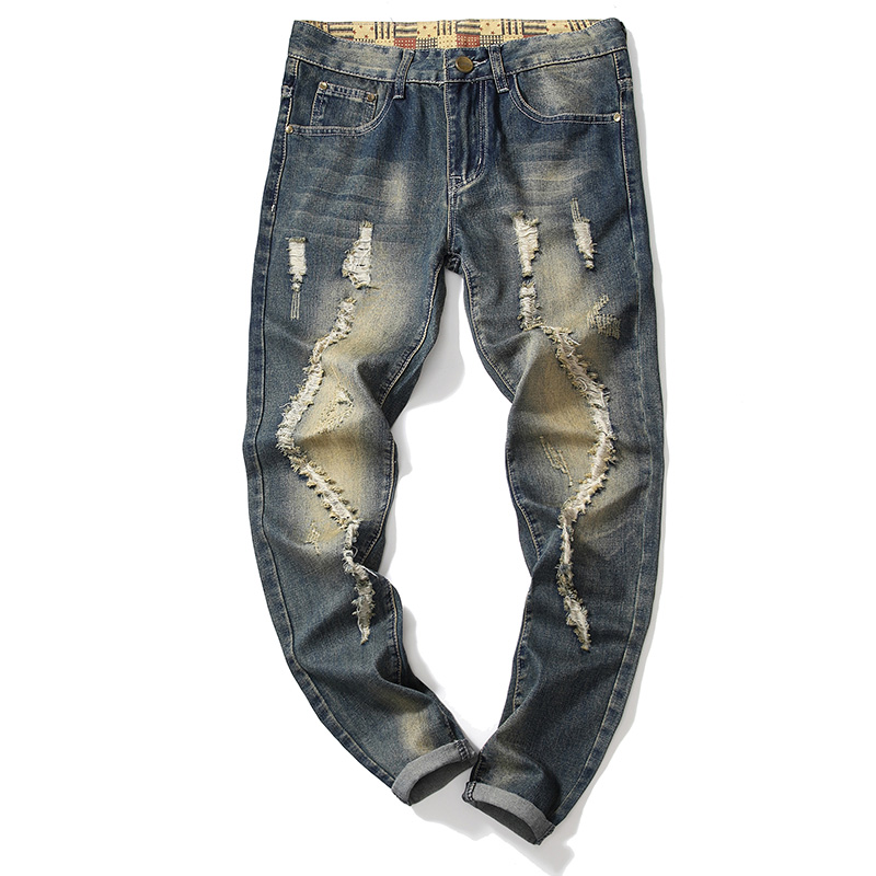 Vaqueros Rasgados Para Hombre Nuevos Y Elegantes 2021 Buy Pantalones Vaqueros De Los Hombres Elegante Vaqueros Funky Hombres Jeans Product On Alibaba Com