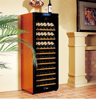 Temperature controlled thermostatic wine cooler cabinet