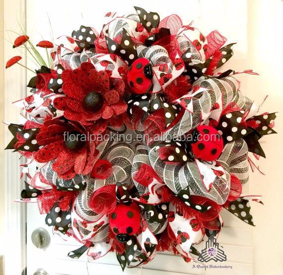 Shecan Fall Wholesale Deco Mesh Easter Xmas Wreaths Buy