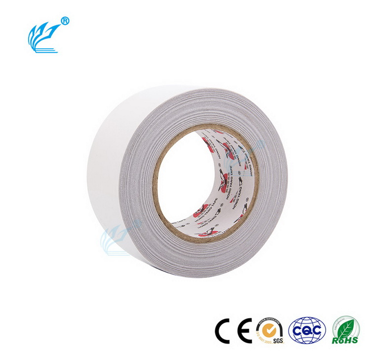 Double Sided Solven Based Glue Good Holding Power Tissue Tape