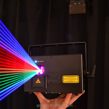 LED full color mini disco laser projector light 5w beam flame 3d laser high scanner lighting