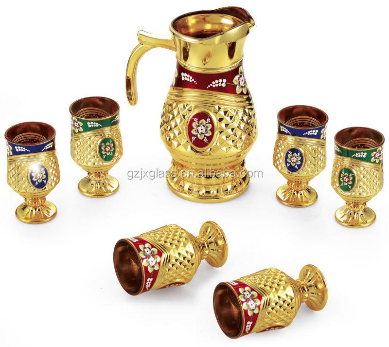 Arabic Glass Tea Set Glass Water Set