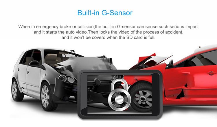 Jimi Concox Jc200 Car Dvr Camera Dual Channel Recording Dashcam Gps 3g -  Buy Dashcam Gps 3g,Dual Channel Recording Dashcam,Car Dvr Camera Product on