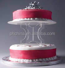 LY-018 2 Tiers Acrylic Cupcake Stand
