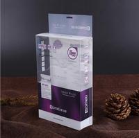 clear plastic pet pvc pp folding box Factory Custom Clear Packing Pp Pet Pvc Plastic Gift Box Packaging Clear Plastic Box