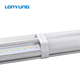 ETL DLC Double T5 Integrated 4ft led tube light fixture, Dimming 15W - 60W 600-2400MM LED T5/T8 led tube light 2700-6500K