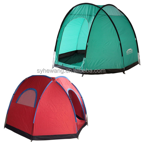 Fashion Windproof Dome Family Camping Tent with bag