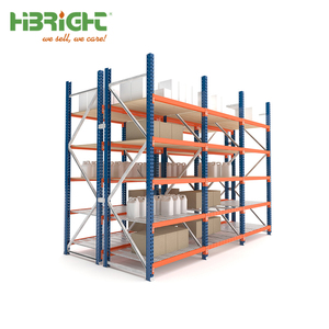 Warehouse heavy duty metal shelving / euro pallet racking