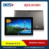 strongest quad core Intel Baytrail-T 10.1 inch windows pc tablet