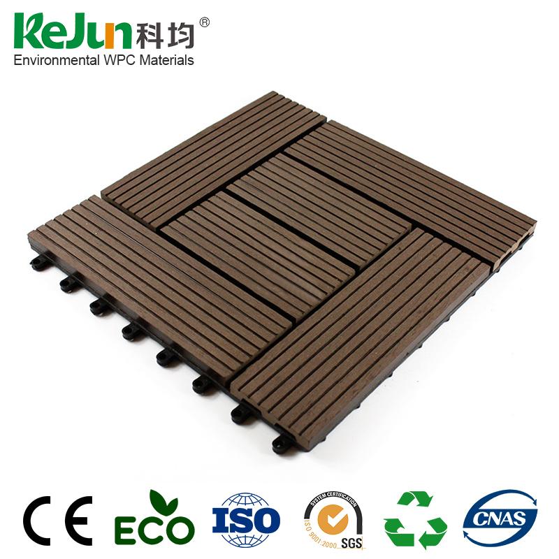 Non-slip Wood Composite Decking Tiles, Non-slip Wood Composite ...