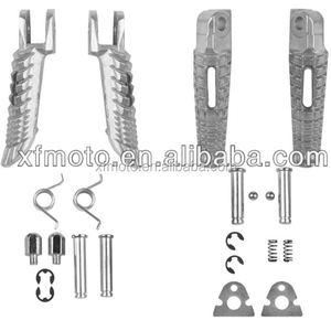 TCMT Front Rear Footrest Foot Pegs For Suzuki GSX-R GSXR 600 750 1000 2005-2014