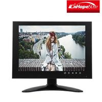 LCD screen IPS panel monitor 1024*768 with VGA RCA BNC