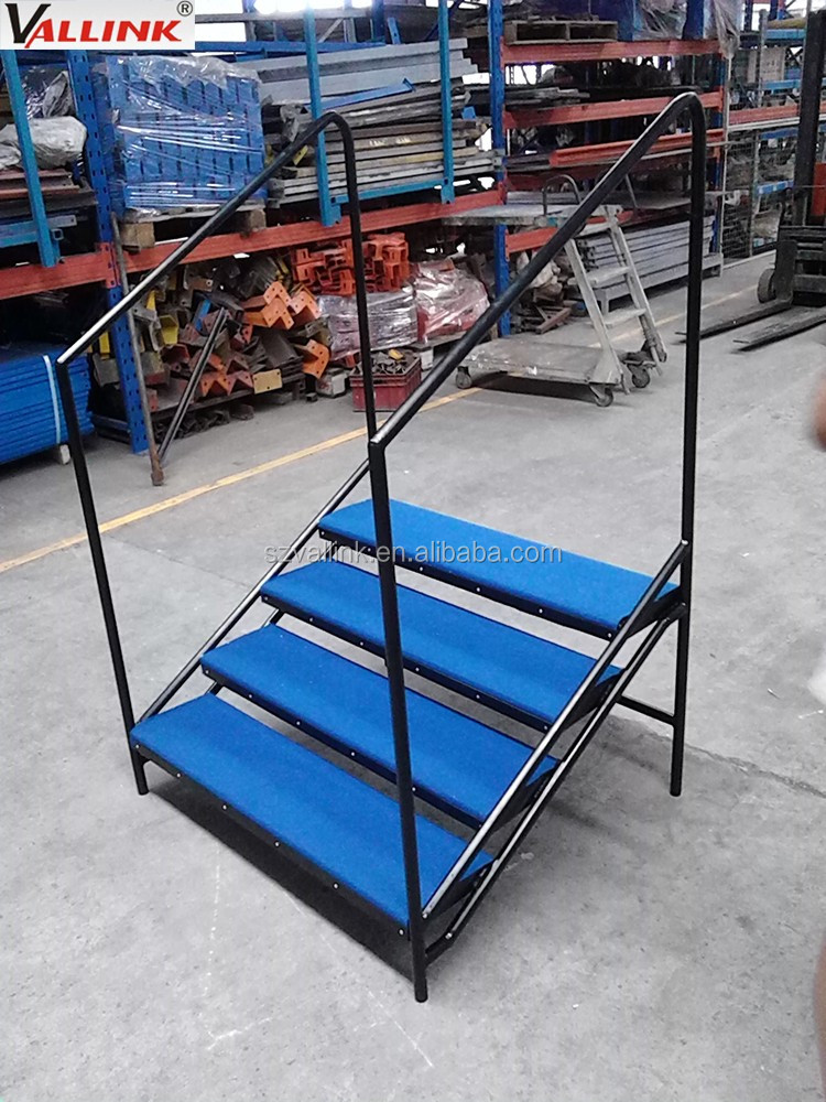 Portable Steel Steps : Warehouse steel portable stairs buy