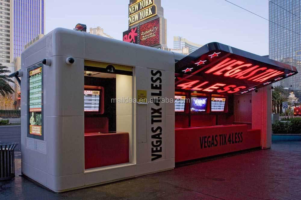 Anti uv y anti fr o contenedor cafeter a prefabricados for Kioscos prefabricados
