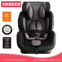 car seat for sale with stand ECE R44/04 ISOFIX kid car 4 seat