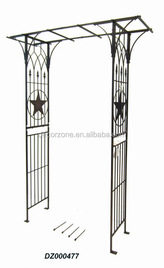 Wrought Cast Iron Pergola with Plant Stand - Wrought Cast Iron Pergola With Plant Stand - Buy Iron Pergola
