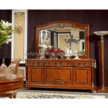 0029 Italian Design Antique Dining Room Furniture Vintage Buffet