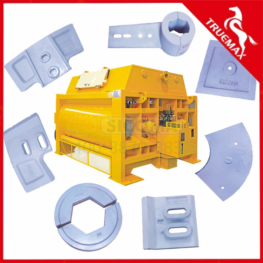 Sicoma concrete mixer spare parts