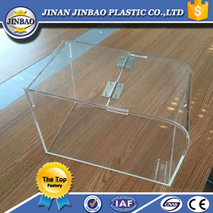 jinbao good price clear used acrylic animal display case