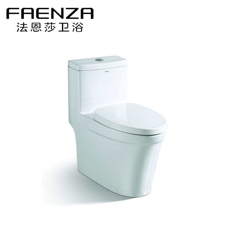 FAENZA high quality ceramic siphon jet WC water closet FB1655 CUPC certificate
