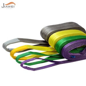 CE 4:1 5:1 6:1 7:1 Polyester Webbing sling lifting sling