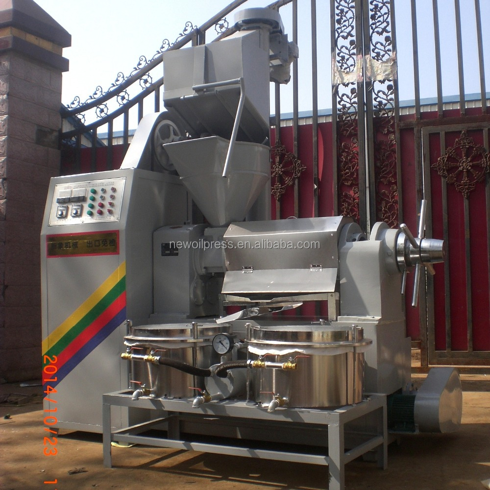High productivity home olive oil press machine 6YL-130A