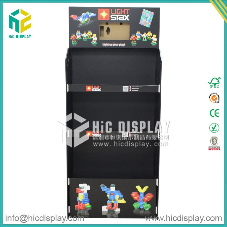 HIC Sports toy display stand, Toys blister packaging cardboard display